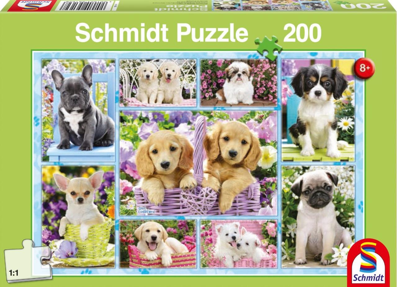 Schmidt Spiele Puzzle  Welpen 200 Teile