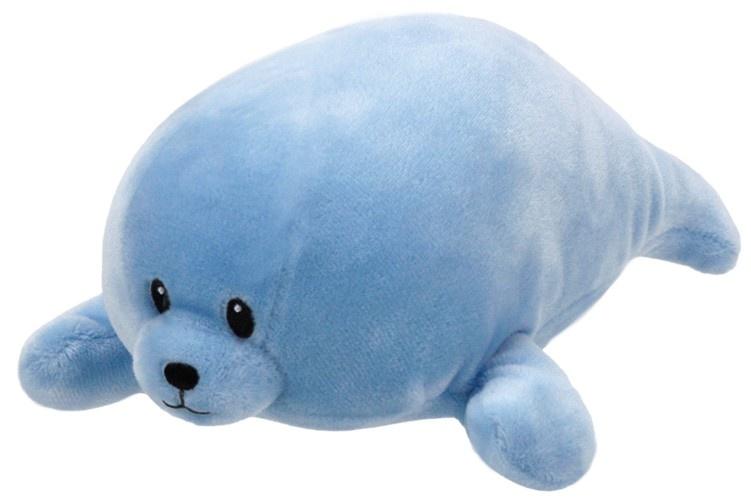 Ty Baby Linie Plüschtier  Robbe Squirt blau 17 cm