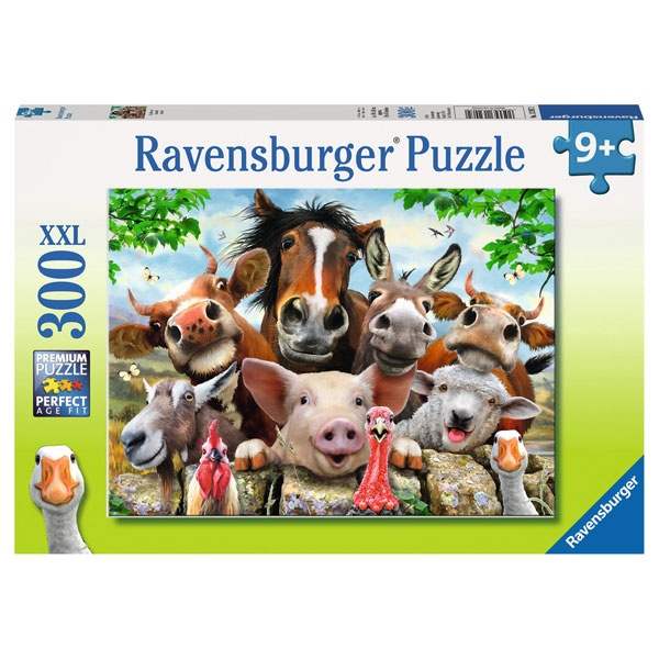 Ravensburger Puzzle Say cheese (Bauernhoftiere) 300 Teile