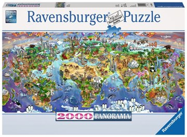 Ravensburger Puzzle World Wonders