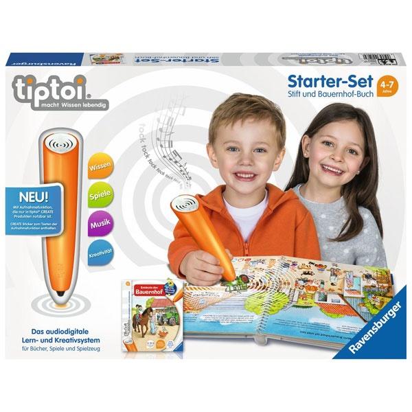 tiptoi Starter-Set Stift und Bauerhof-Buch