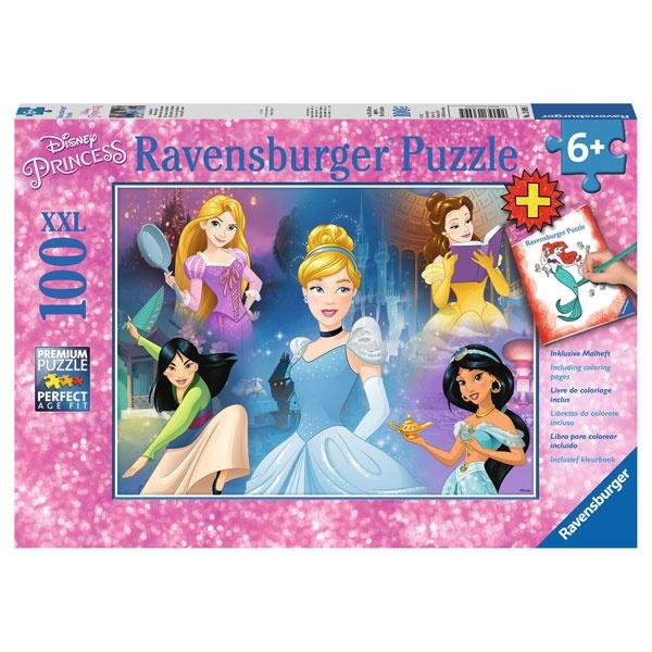 Ravensburger Puzzle Disney Bezaubernde Prinzessinnen 100 T
