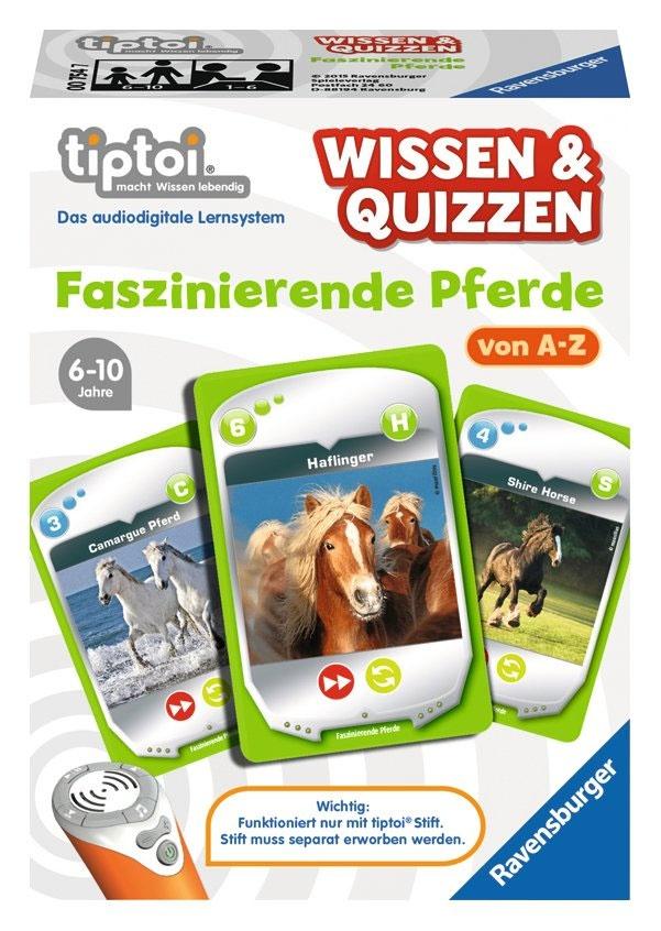 tiptoi Wissen&Quizzen Faszinierende Pferde