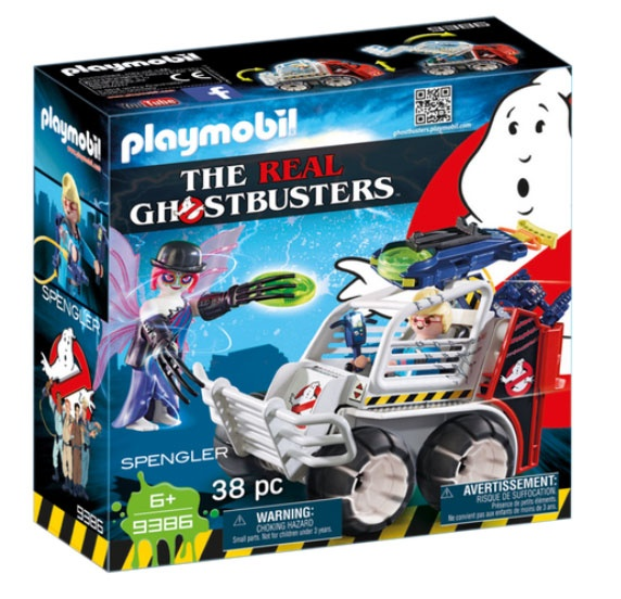 Playmobil 9386 Ghostbusters Spengler mit Käfigfahrzeug