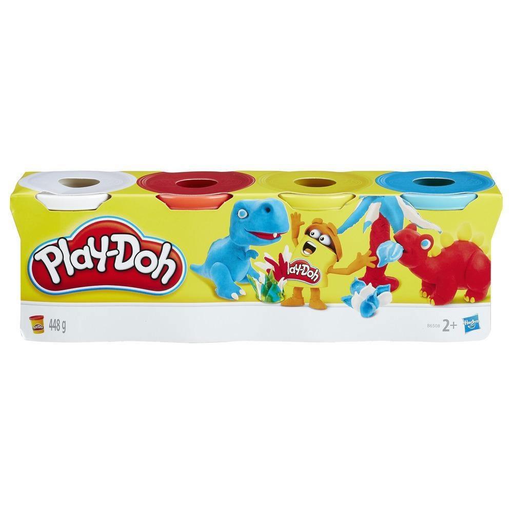 Play-Doh 4er Pack Knete Grundfarben