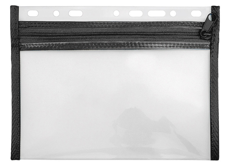 Veloflex Reißverschlusstasche Velobag XXS schwarz