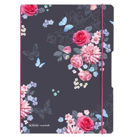 Herlitz Notizheft flex A4 Ladylike Flowers