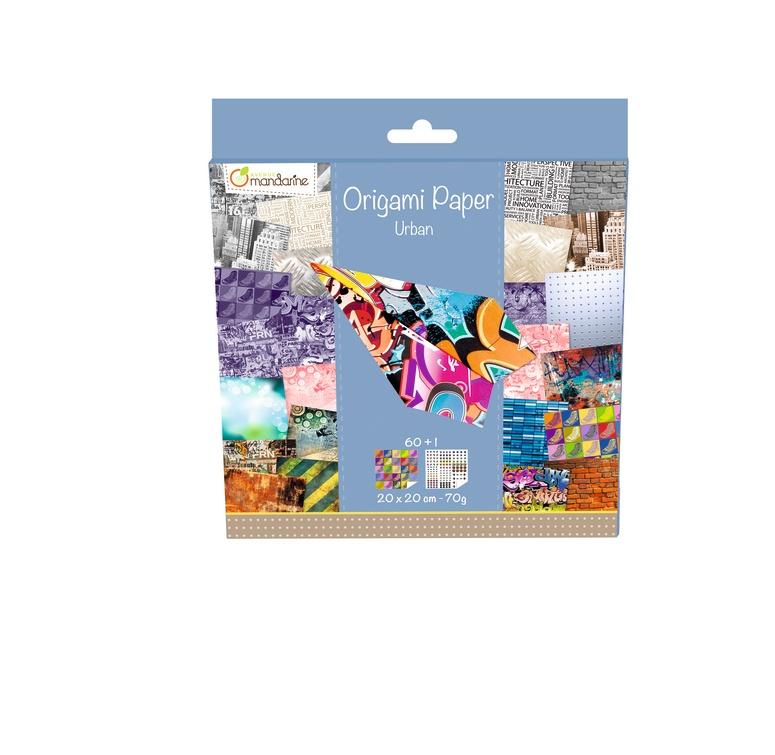Avenue Mandarine Origami Papier 20 x 20 cm Urban