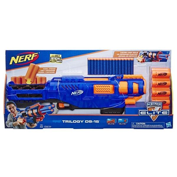 NERF N-Strike Trilogy Blaster von Hasbro