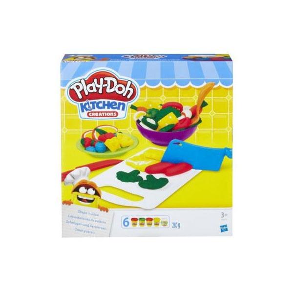 PlayDoh Küchen Schnippel- und Servierset