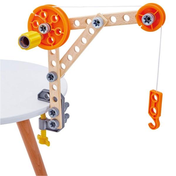 Hape Junior Inventor Regal Bausatz für Tüftler