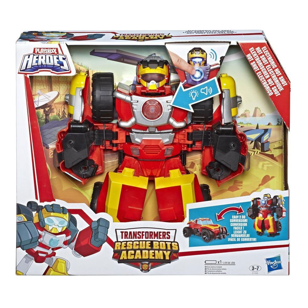 Transformers Rescue Bots Academy Hot Shot Power