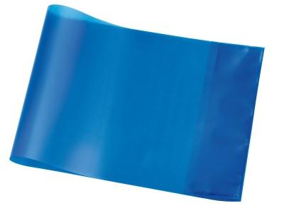 Hefthülle A5 quer blau transparent
