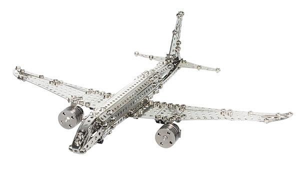 eitech Metallbaukasten C10 Flugzeug