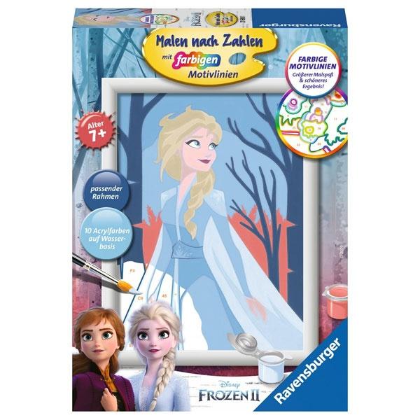 Ravensburger Malen nach Zahlen Frozen II Elsa