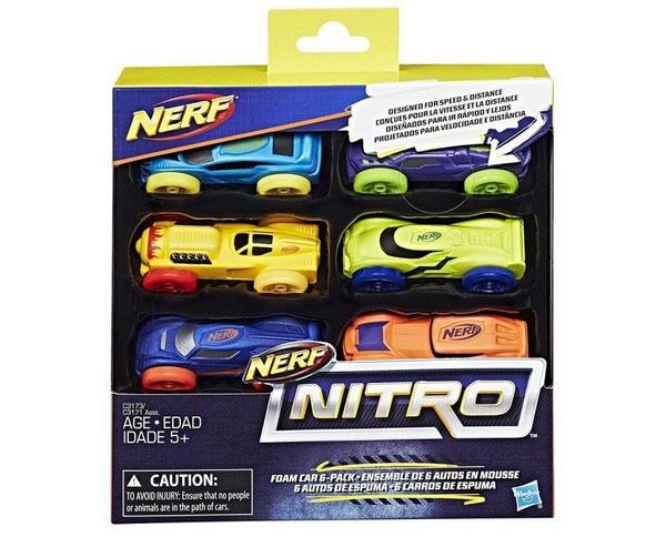 Nerf Nitro Soft Racer 6er Pack von Hasbro C3173