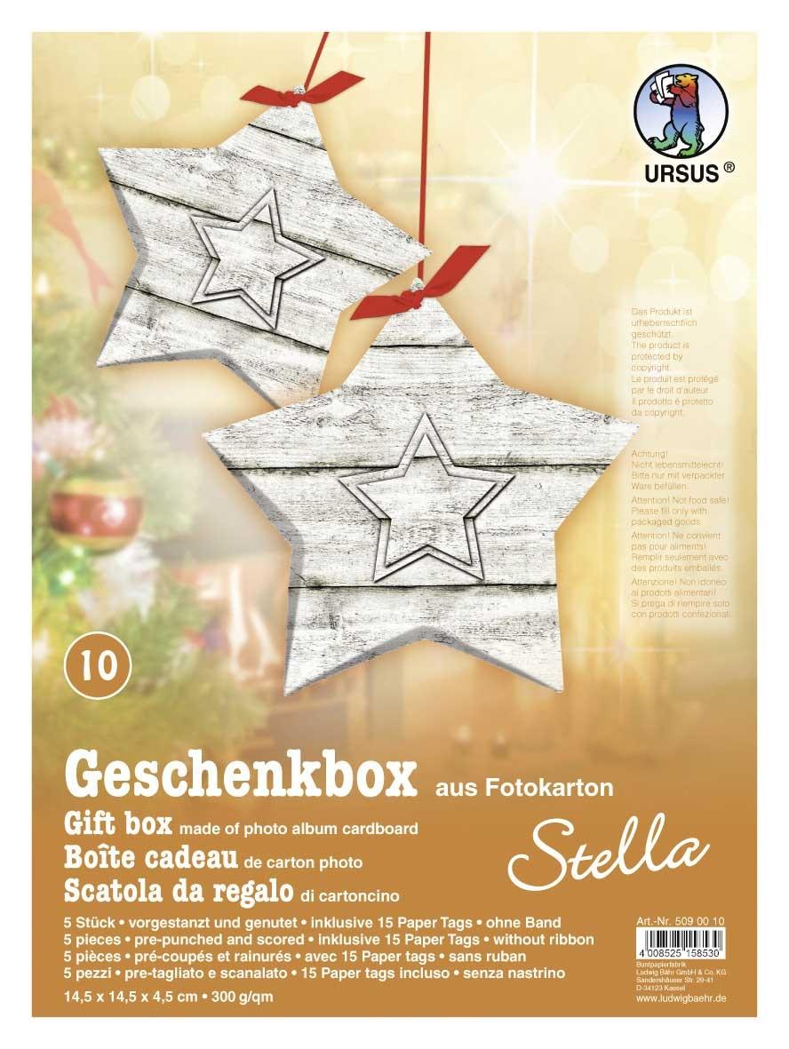 Bastelmappe Geschenkbox Stella Motiv 10