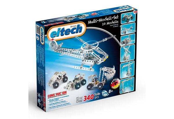 Eitech Metallbaukasten C300 Multi-Modell-Set