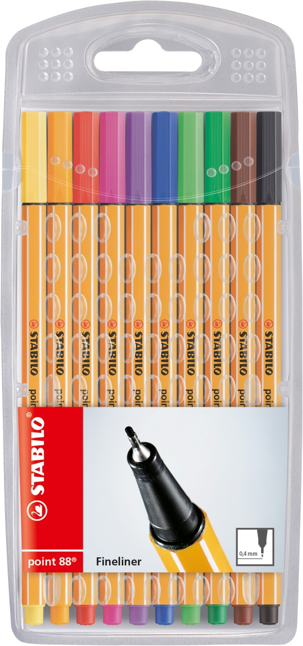 Stabilo Fineliner Point 88 10 Stück