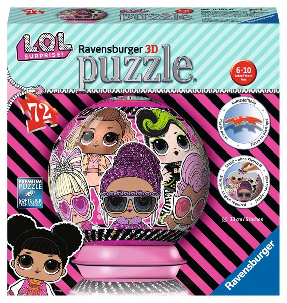 Ravensburger Puzzleball LOL Surprise 72 Teile