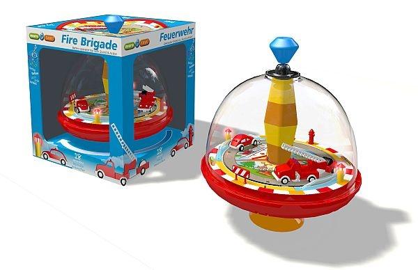 Maro Toys Kreisel Feuerwehr