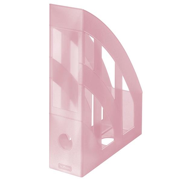 Stehsammler rose pastell transluzent von Herlitz