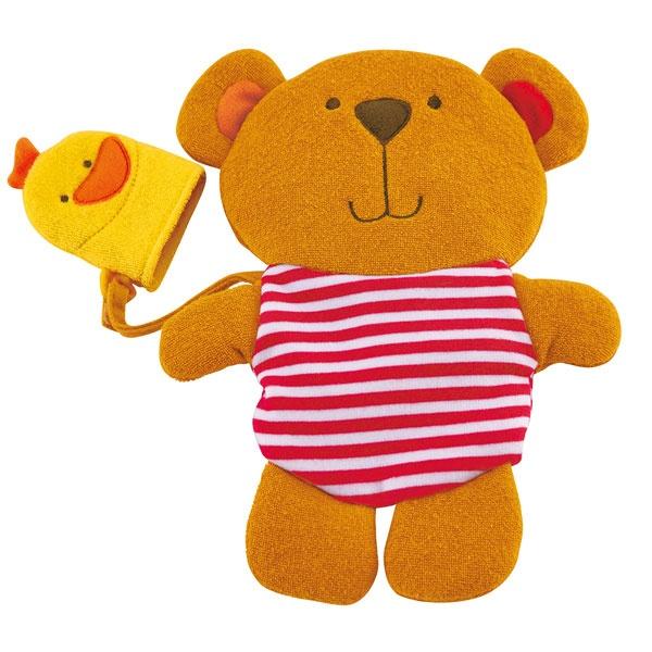 Hape Teddy-Waschhandschuh mit Entchen