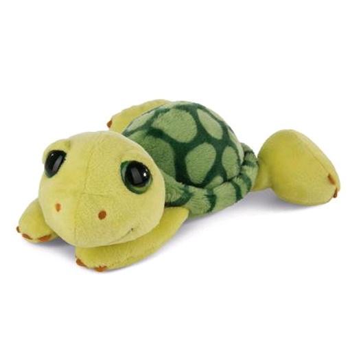 Nici Plüschtier Schildkröte Slippy 20 cm liegend
