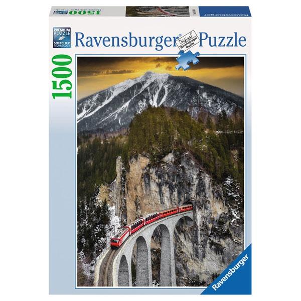 Ravensburger Puzzle Winterliche Schlucht 1500 Teile