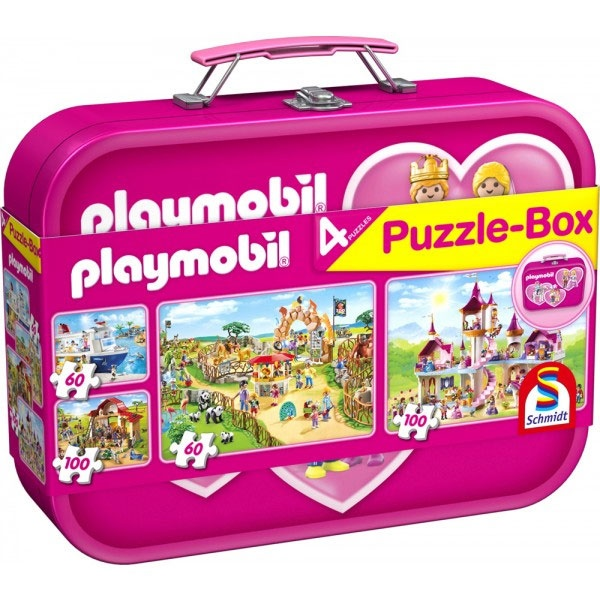 Puzzle Puzzle-Box Playmobil, pink