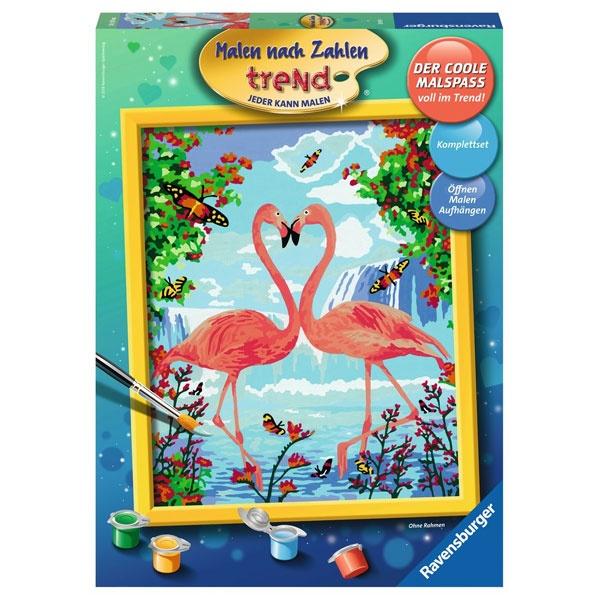 Ravensburger Malen nach Zahlen Flamingo Love
