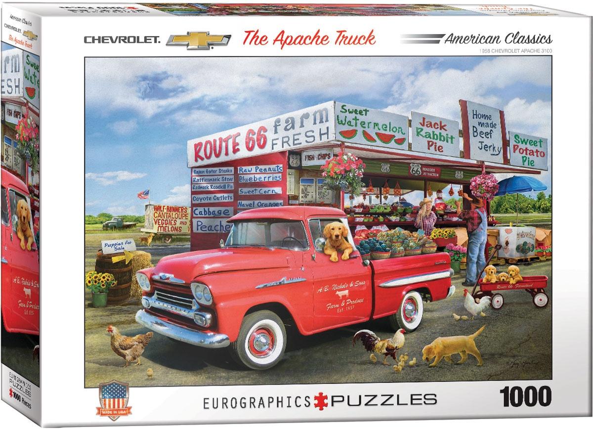 Puzzle 1959 Chevrolet Apache Truck 1000 Teile