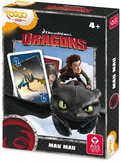 Dreamworks Dragons Mau Mau Kartenspiel