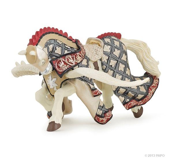 Papo 39949 Pferd des Waffenmeisters Pegasus