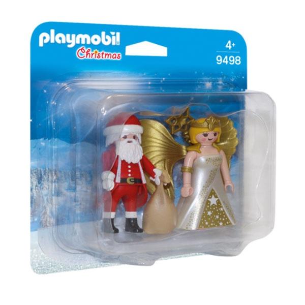 Playmobil 9498 Duo Pack Weihnachtsmann und Engel