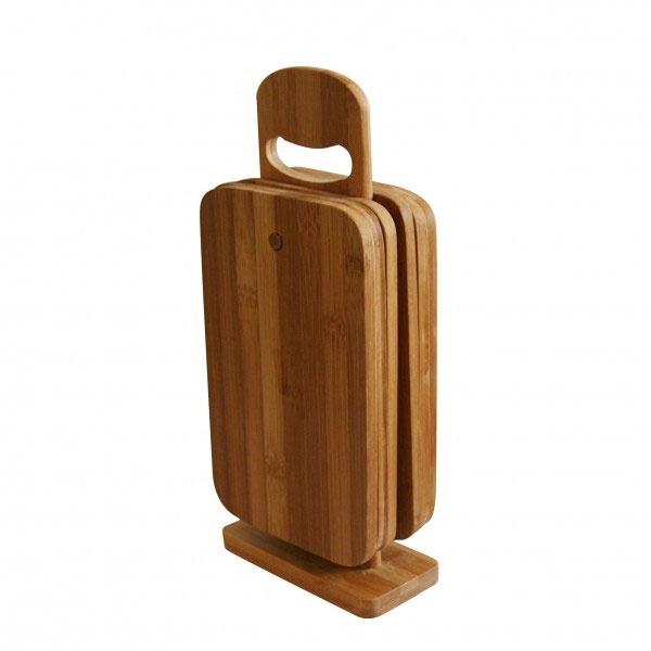 Brettchenständer Bambus