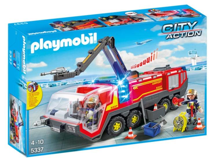 Playmobil 5337 City Action Flughafenlöschfahrz. Licht/Sound