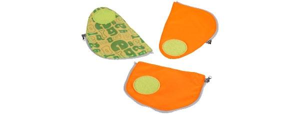 Ergobag Zubehör Pack Sicherheitsset orange