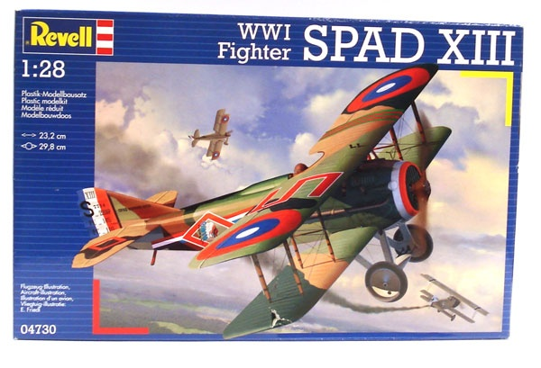 Revell 04730 WWI Fighter SPAD XIII 1:28