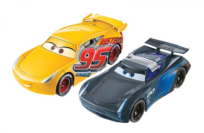 Mattel Disney Cars 3 Überschlag Zielrennen Ramirez/Jackson