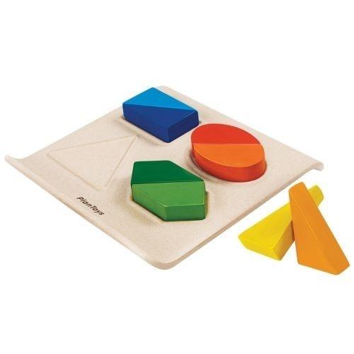 Formen und Farben Lernspiel aus Holz von Plantoys