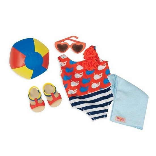 Puppenkleidung Strand-Set