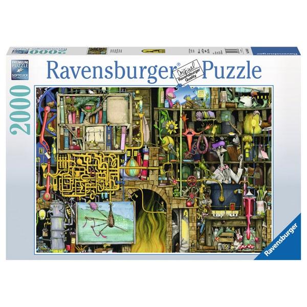 Ravensburger Puzzle Verrücktes Labor 2000 Teile