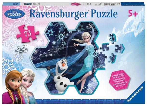 Disney Die Eiskönigin Puzzle Elsas Schneeflocke