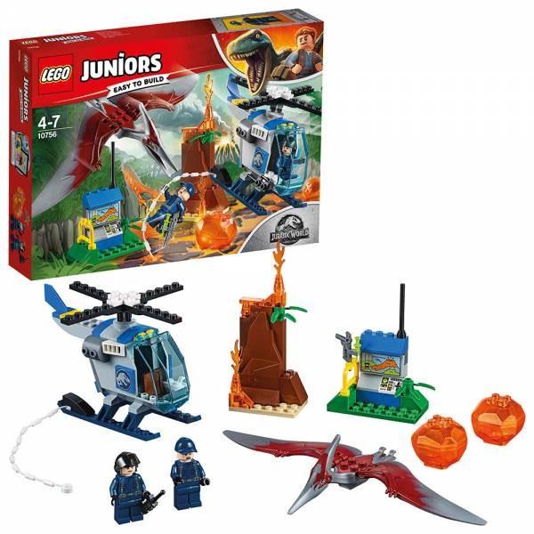 Lego 10756 Flucht vor dem Pteranodon