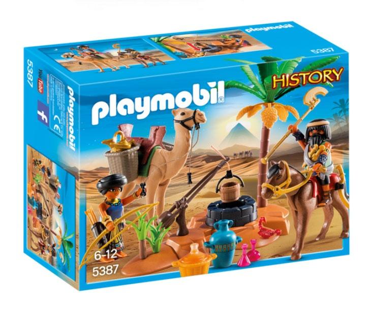 Playmobil 5387 History Grabräuber-Lager