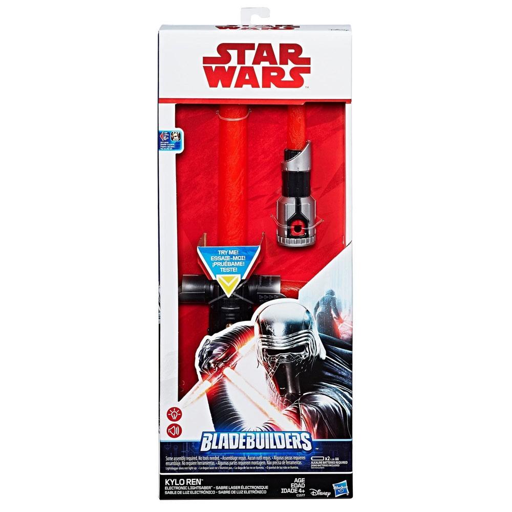 Star Wars Episode 8 Kylo Ren elektronisches Lichtschwert