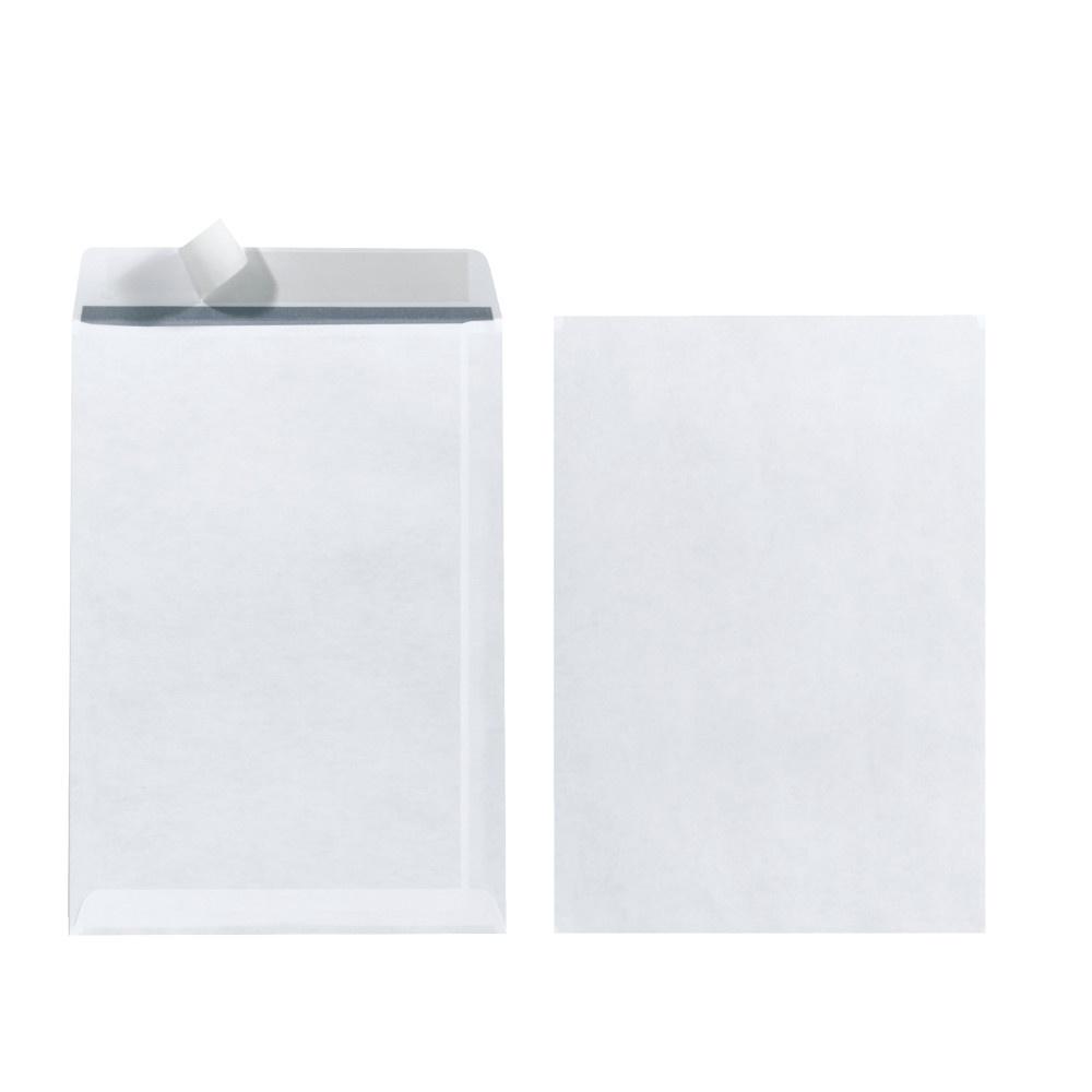 Versandtasche C5 ohne Fenster 25er haftklebend weiß