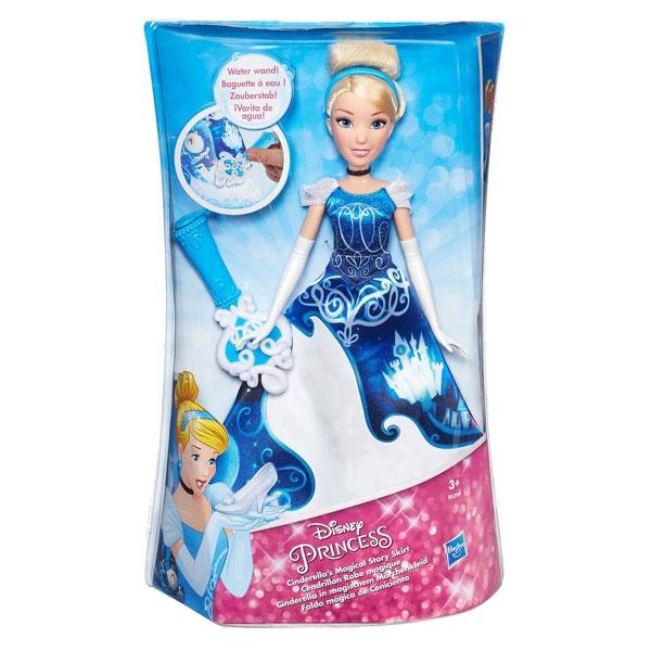 Disney Princess Puppe Cinderella im magischen Märchenkleid