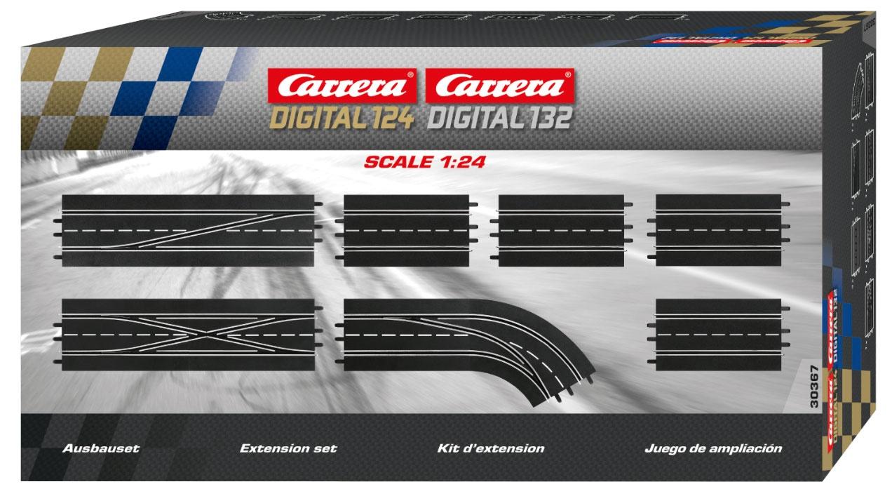 Carrera Digital 124 132 Digitales Schienenausbauset 20030367